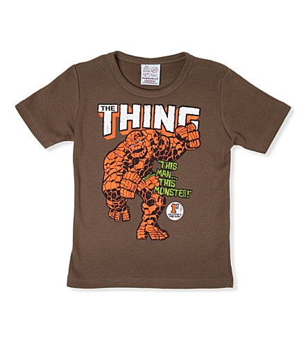 LOGOSHIRT The Thing t-shirt 18 months - 12 years (Olive