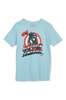 LOGOSHIRT Captain America t-shirt 18 months-12 years