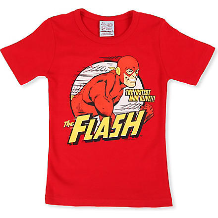 LOGOSHIRT Flash t-shirt 18 months - 12 years (Red