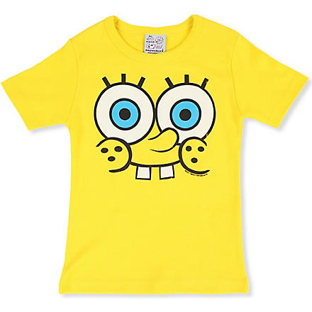 LOGOSHIRT Spongebob t-shirt 18 months - 12 years (Yellow