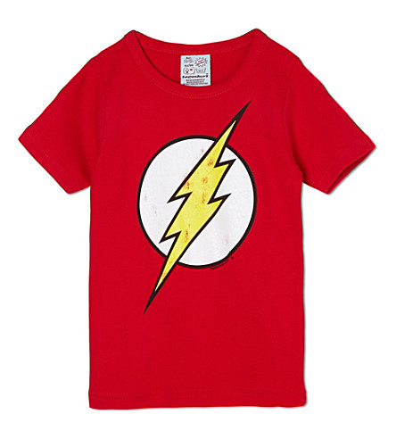 LOGOSHIRT Flash logo t-shirt 18 months -12 years (Red
