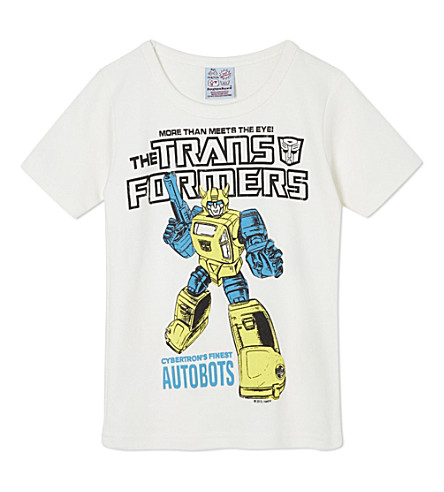 LOGOSHIRT Transformers t-shirt 18 months-12 years (White