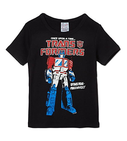 LOGOSHIRT Optimus Prime t-shirt 18 months-12 years (Black