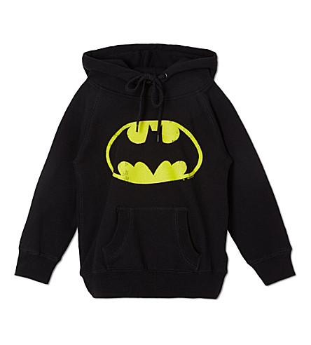 LOGOSHIRT Batman logo hoodie 18 months-12 years (Black