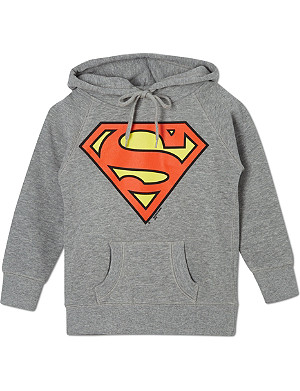 LOGOSHIRT Superman logo hoody 18 months-12 years