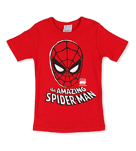 LOGOSHIRT Spiderman t-shirt 18 months - 12 years (Red