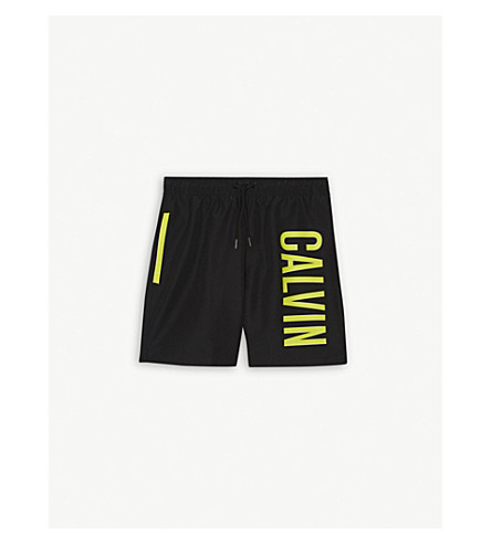 CALVIN KLEIN Intense Power swim shorts 4-16 years (Black