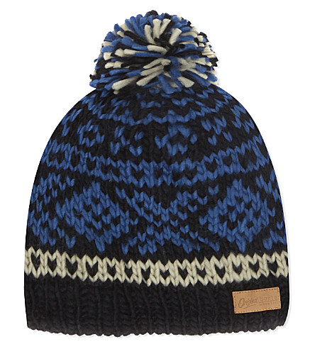 BARTS BV Log Cabin beanie 4-8 years (Black