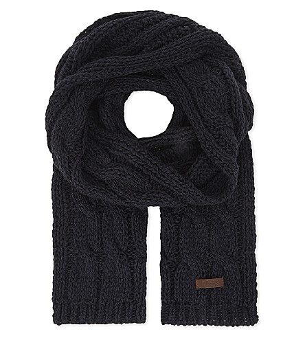 BARTS BV Cable knit scarf (3