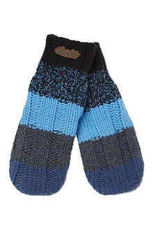 BARTS BV Striped luca mittens 4-6 years