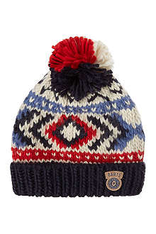 BARTS BV Woody fairisle beanie 4-8 years