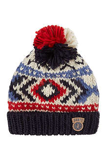 BARTS BV Woody fairisle beanie 8-12 years