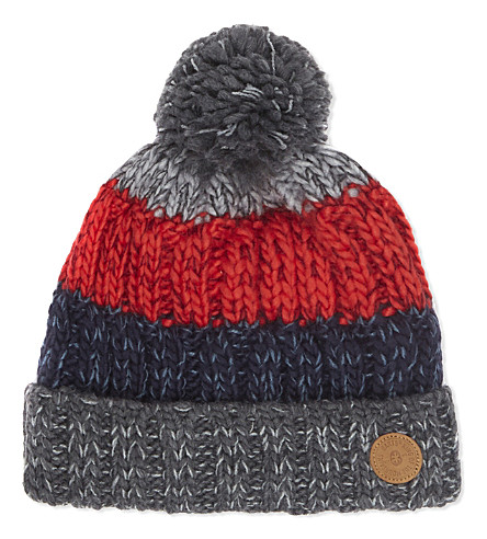 BARTS BV Wilhelm knitted beanie 4-8 years (Anthracite
