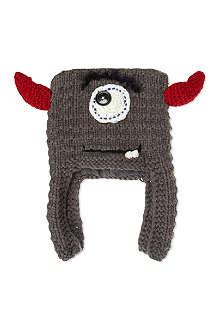 BARTS BV Brody inka horns knitted beanie 1-3 years