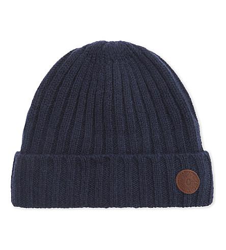 BARTS BV Haakon knitted wool beanie (3