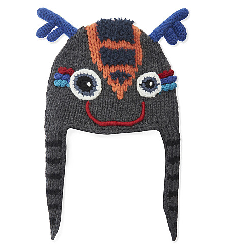 BARTS BV Woodson knitted deer hat (19