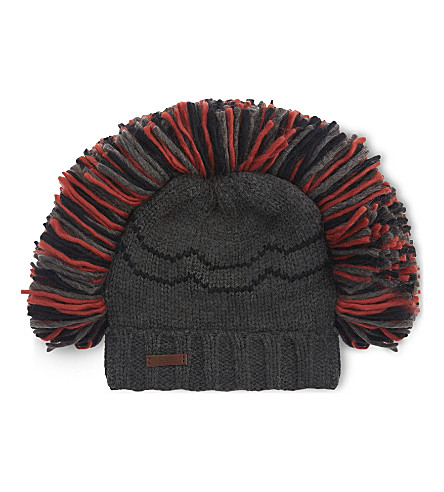BARTS BV Steen knitted mohawk beanie (19