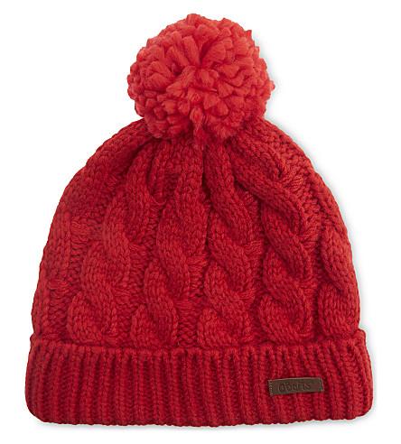 BARTS BV Macray knitted pompom beanie (5