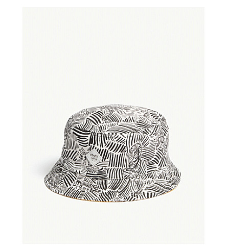 BARTS BV Reversible cotton bucket hat (Black