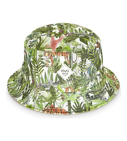 BARTS BV Reversible cotton bucket hat