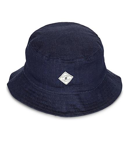BARTS BV Criss-cross cotton bucket hat (Denim