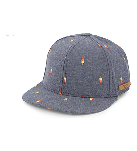 BARTS BV Pauk embroidered denim cap (Denim