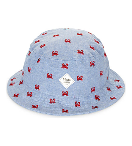 BARTS BV Aquatic cotton bucket hat (Blue/red
