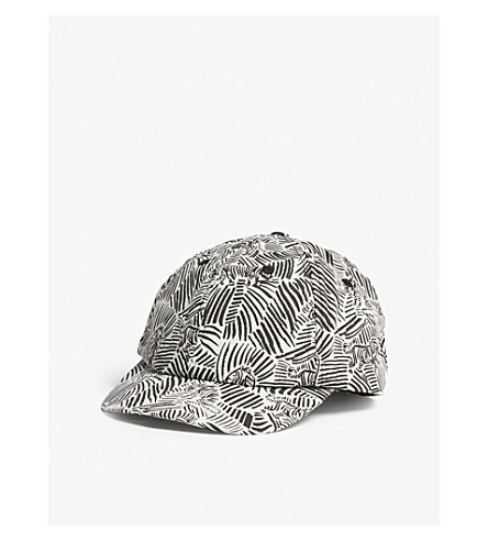 BARTS BV Saki cotton strapback cap (Black