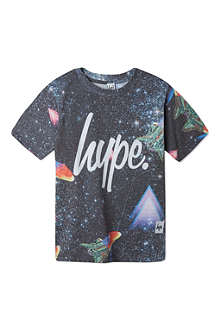 HYPE Space print t-shirt 5-13 years