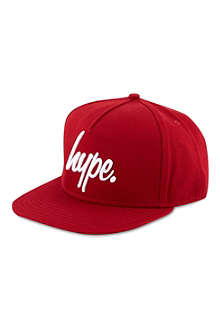 HYPE Red snapback cap