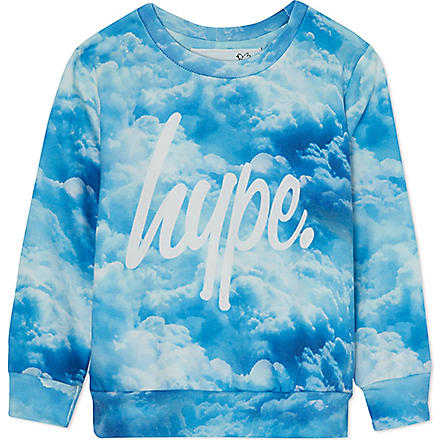 HYPE Cloud sweatshirt 5-13 years (Oasis