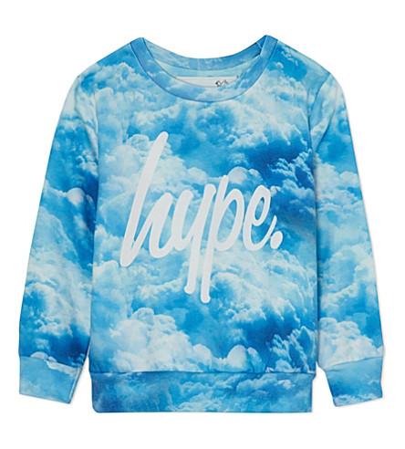 HYPE Cloud sweatshirt 5-13 years (Oasis