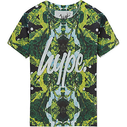 HYPE Spotflower t-shirt 5-13 years (Paradise