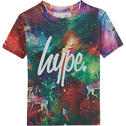 HYPE Space t-shirt 5-13 years (Wonderland