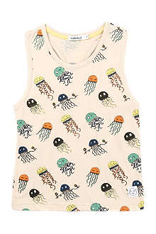 INDIKIDUAL Jellyfish print cotton top 2-7 years
