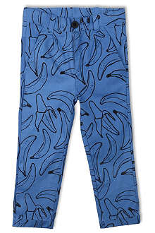 INDIKIDUAL Cotton banana print trousers 2-7 years