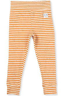 INDIKIDUAL Striped stretch-cotton leggings 2-7 years