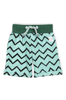 INDIKIDUAL Zizzag print cotton shorts 2-7 years