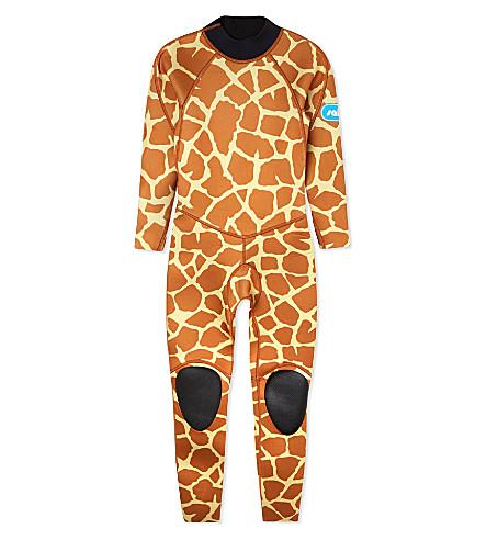 SALTSKIN Giraffe wetsuit 3-12 years (Giraffe