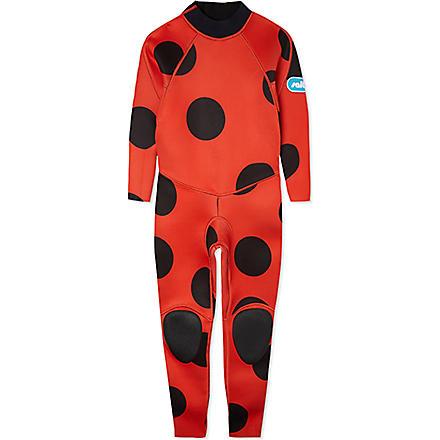 SALTSKIN Ladybird wetsuit 3-12 years (Ladybird