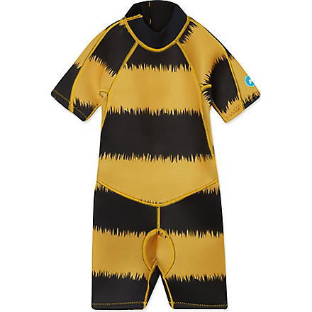 SALTSKIN Shorty bee wetsuit 2-12 years (Bee