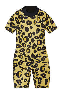 SALTSKIN Shorty leopard wetsuit 2-12 years