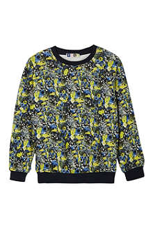 MSGM Floral print jumper 4-12 years
