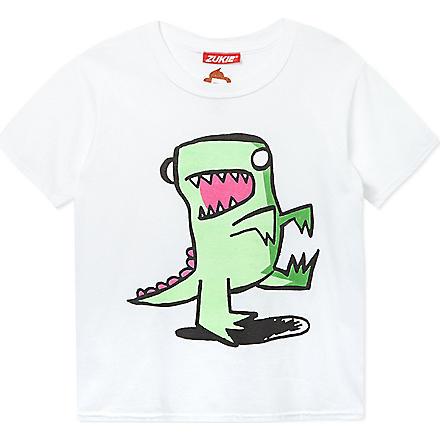 ZUKIE Printed t-shirt 2-16 years (White