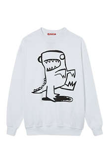 ZUKIE Outline print sweatshirt 2-16 years