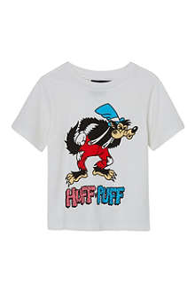 RUFF AND HUDDLE Badass wolf t-shirt 2-11 years