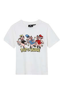 RUFF AND HUDDLE Street piggies t-shirt 2-11 years