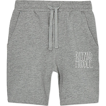 RUFF AND HUDDLE Rude Boy sweatshorts 2-11 years (Grey marl