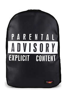 URBAN JUNK Explicit print backpack