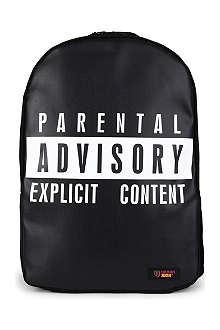 URBAN JUNK Explicit print backpack